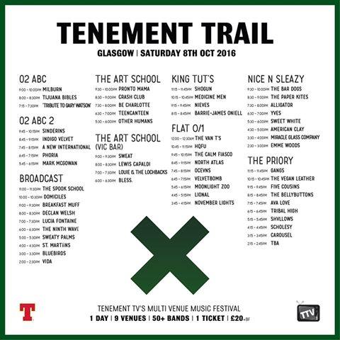 tenement trail day splits